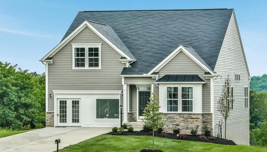 Eastview Manor by Dan Ryan Builders in Morgantown West Virginia
