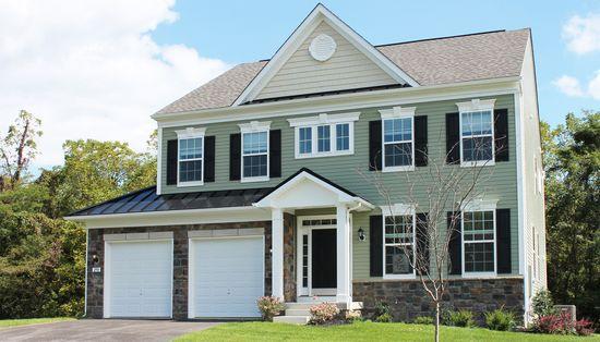 Worthington Village at Charles Pointe by Dan Ryan Builders in Morgantown West Virginia
