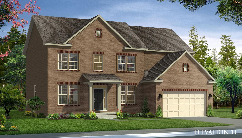 Exterior featured in the Castlerock II By Dan Ryan Builders in Morgantown, WV