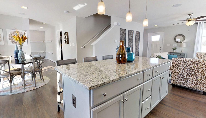 Kitchen featured in the Whitehall II By Dan Ryan Builders in Morgantown, WV