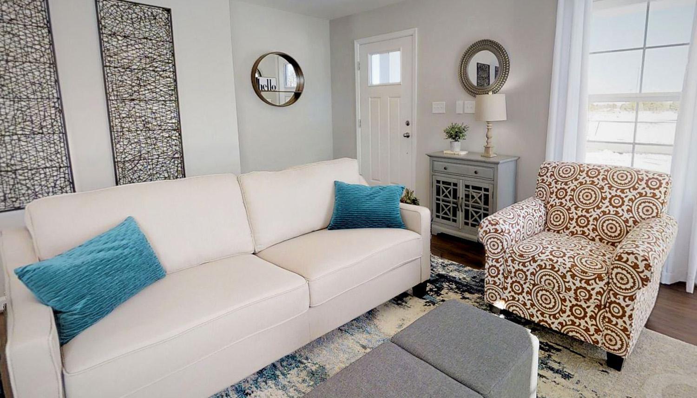 Living Area featured in the Whitehall II By Dan Ryan Builders in Morgantown, WV