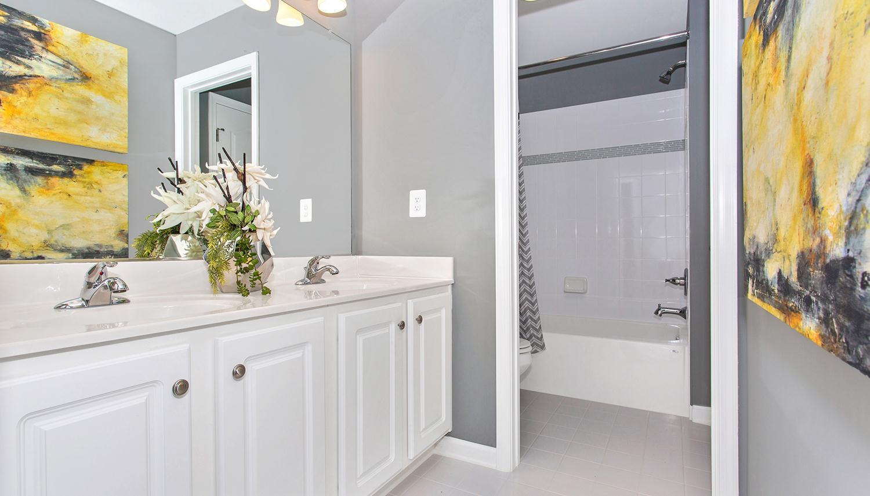 Bathroom featured in the Castlerock II By Dan Ryan Builders in Pittsburgh, PA