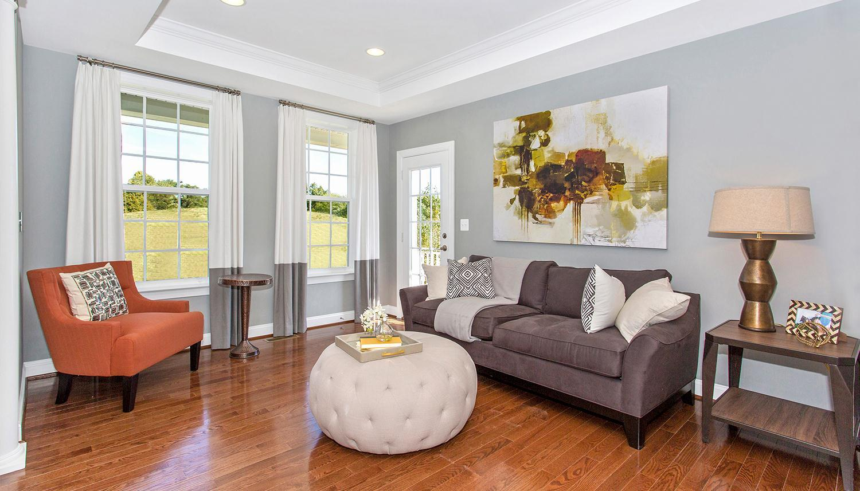 Living Area featured in the Castlerock II By Dan Ryan Builders in Morgantown, WV