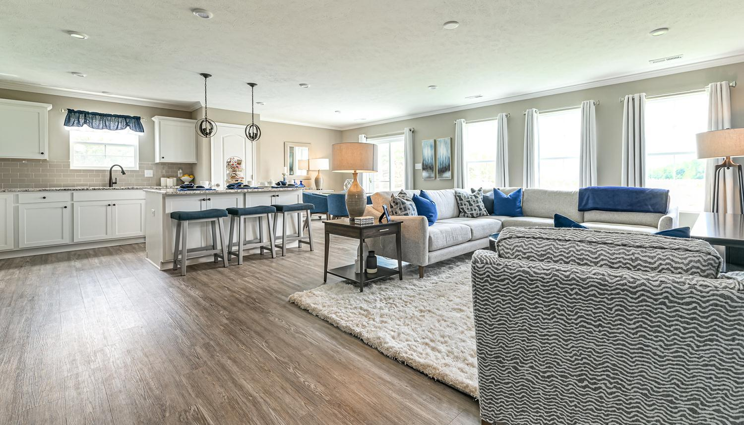 Living Area featured in the Edgewood II By Dan Ryan Builders in Pittsburgh, PA
