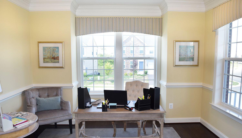 Living Area featured in the Bristol II By Dan Ryan Builders in Morgantown, WV