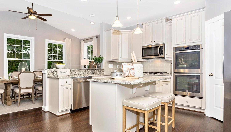 Kitchen featured in the Cumberland II By Dan Ryan Builders in Morgantown, WV