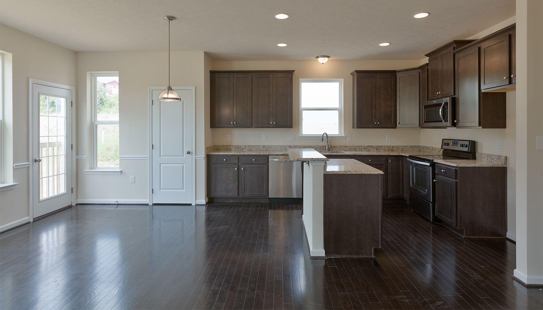 Kitchen featured in the Penrose II By Dan Ryan Builders in Morgantown, WV