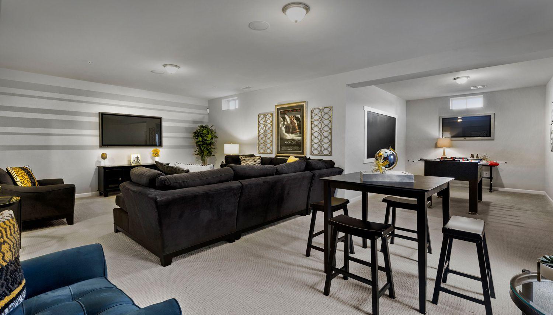 Living Area featured in the Newbury II By Dan Ryan Builders in Morgantown, WV