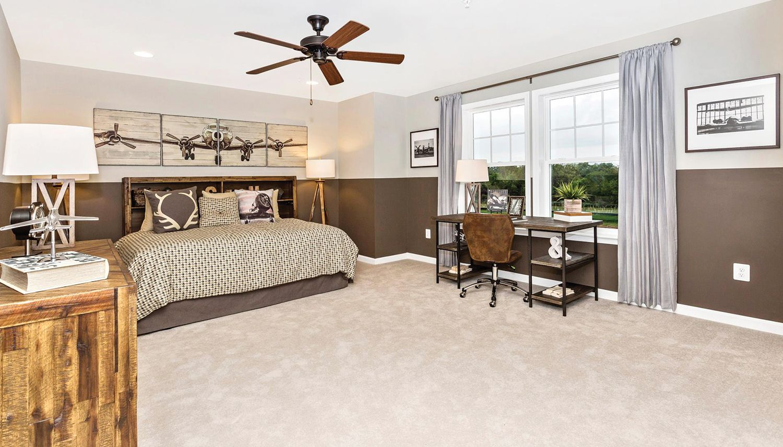 Bedroom featured in the Cumberland II By Dan Ryan Builders in Morgantown, WV