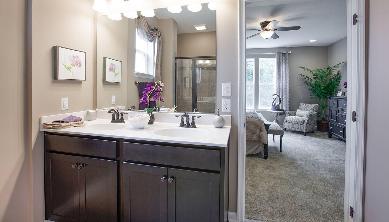 Bathroom featured in the Juniper II By Dan Ryan Builders in Pittsburgh, PA