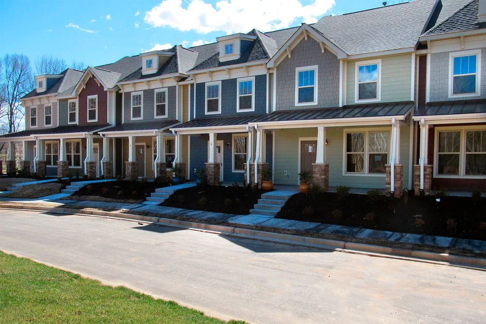 The villages at redfearn townhomes in simpsonville sc for House plans greenville sc