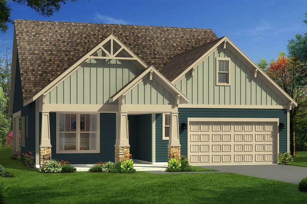 Catawba Home Plan By Dan Ryan Builders In O 39 Neal Village