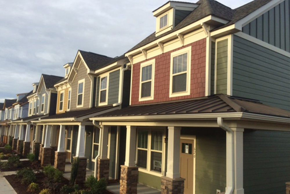 O 39 neal village townhomes in greer sc by dan ryan builders for Home builders south carolina