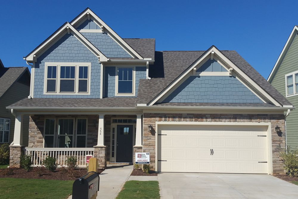 the reserve at richglen in greer sc by dan ryan builders