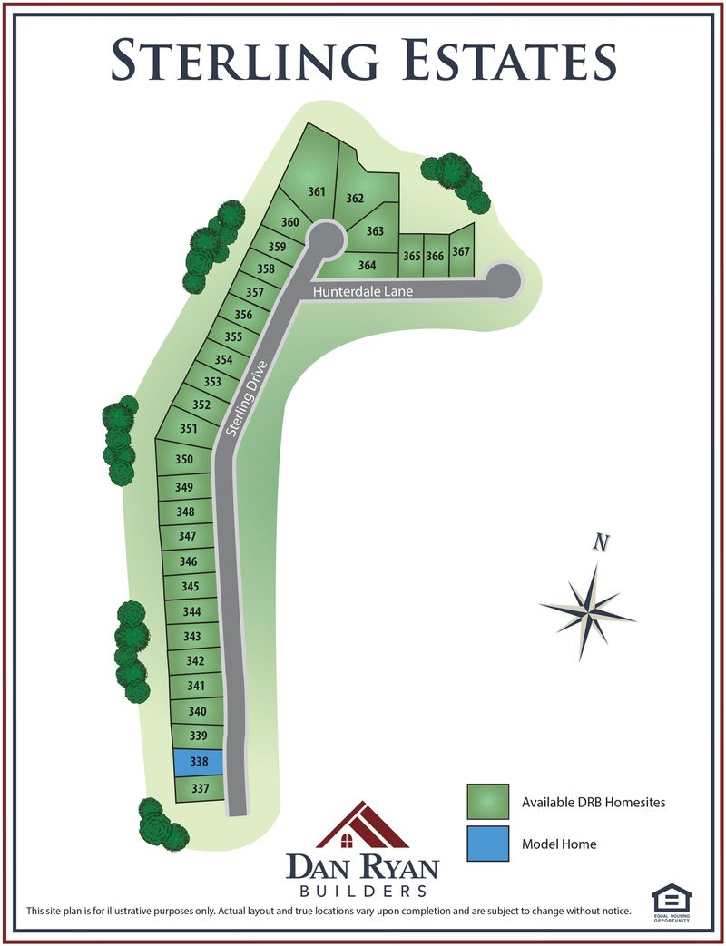 Sterling Site Map