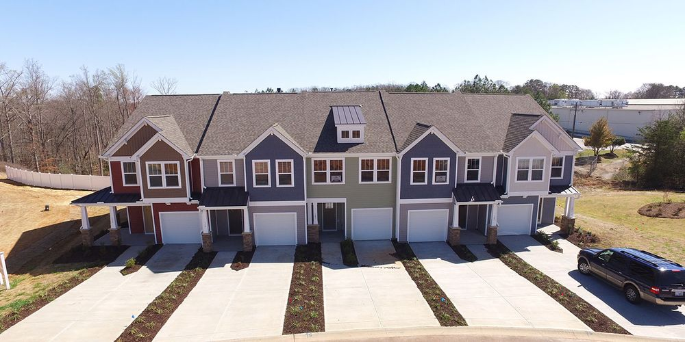 Lakeview chase townes in simpsonville sc by dan ryan builders for Motor mile greenville sc