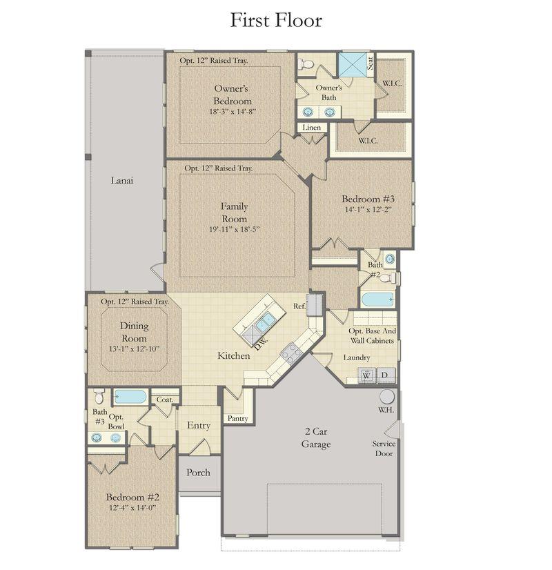Catawba Home Plan By Dan Ryan Builders In O Neal Village