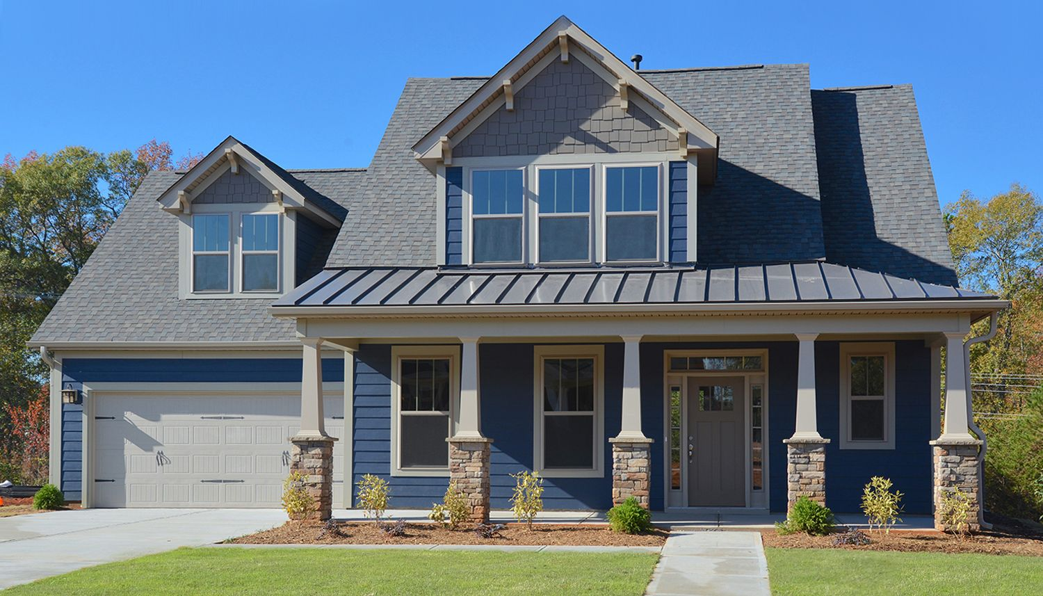 Exterior featured in the Sutherland By Dan Ryan Builders in Greenville-Spartanburg, SC