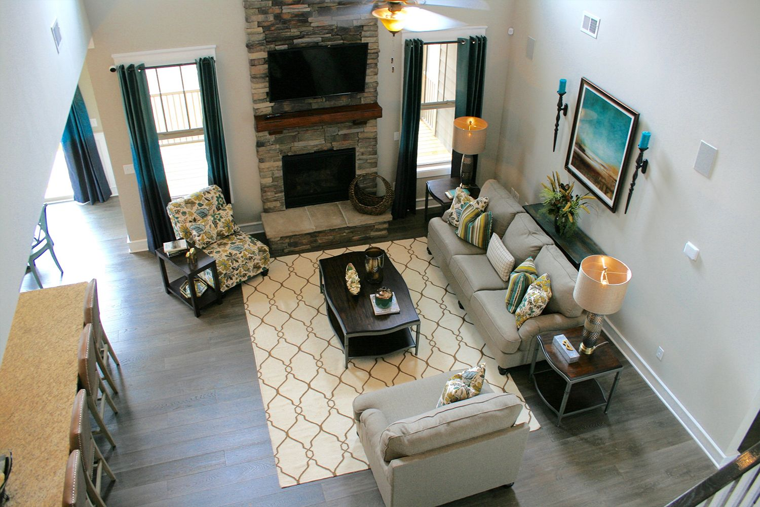 Living Area featured in the Kendrick By Dan Ryan Builders in Greenville-Spartanburg, SC
