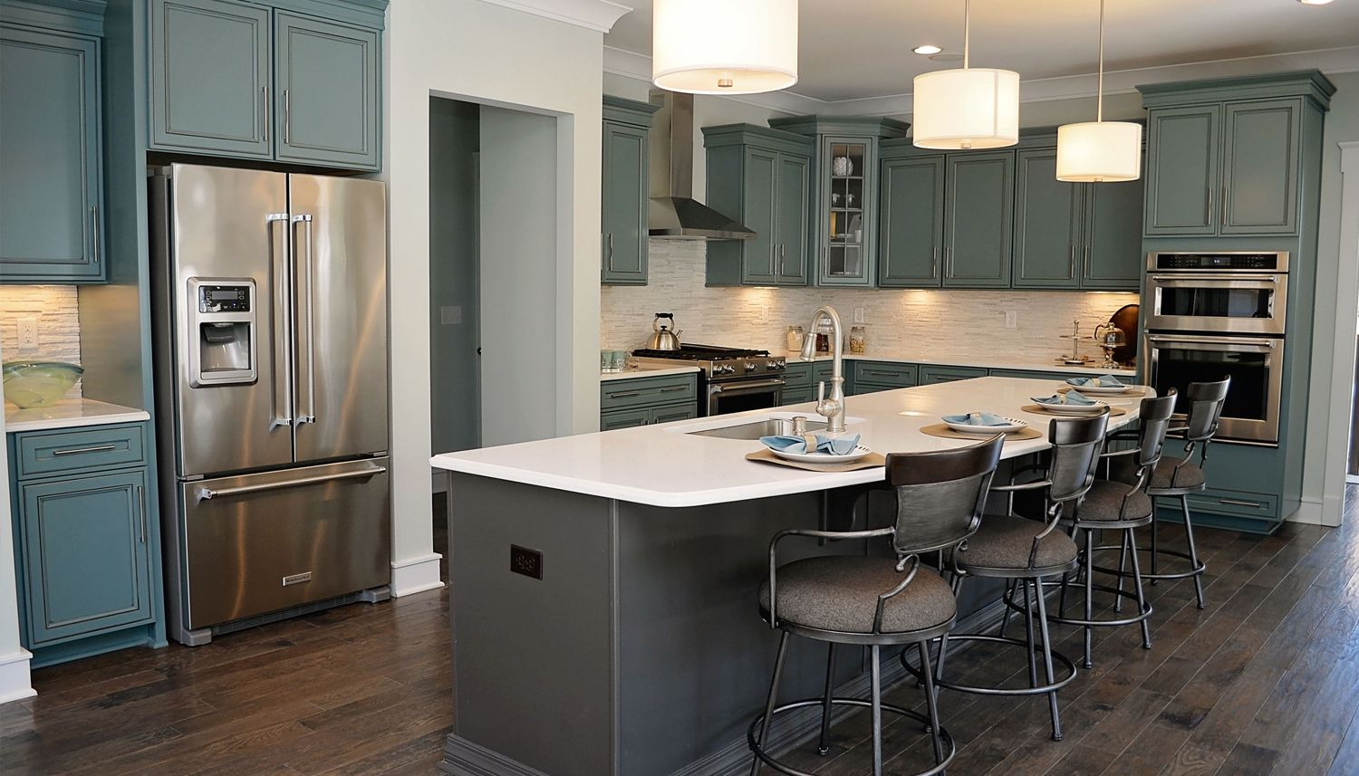 Kitchen featured in the Stonefield By Dan Ryan Builders in Greenville-Spartanburg, SC