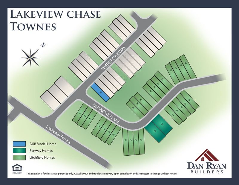 Lakeview Chase Townes Site Map 11.15.18