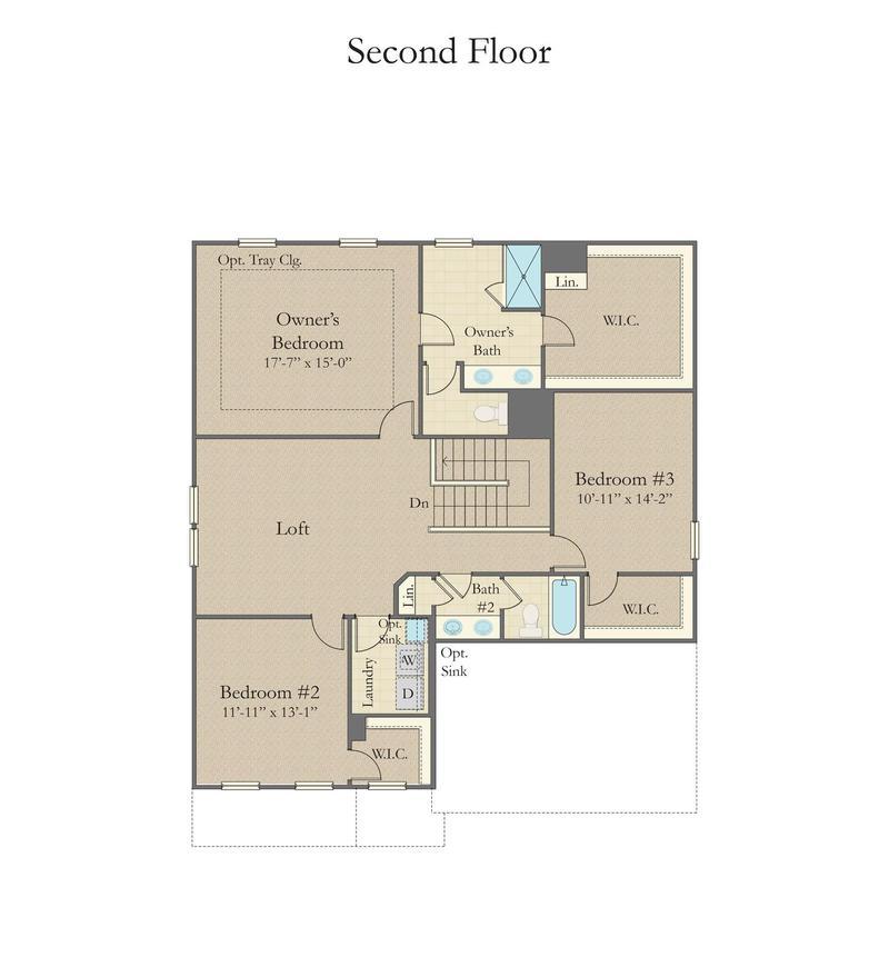 Drayton Home Plan By Dan Ryan Builders In Anderson Grant