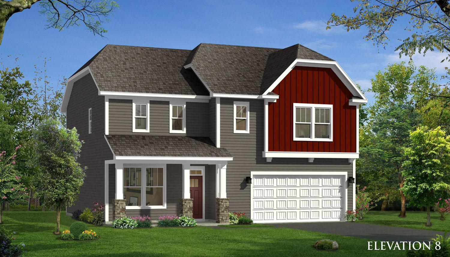 Exterior featured in the Elmhurst By Dan Ryan Builders in Greenville-Spartanburg, SC