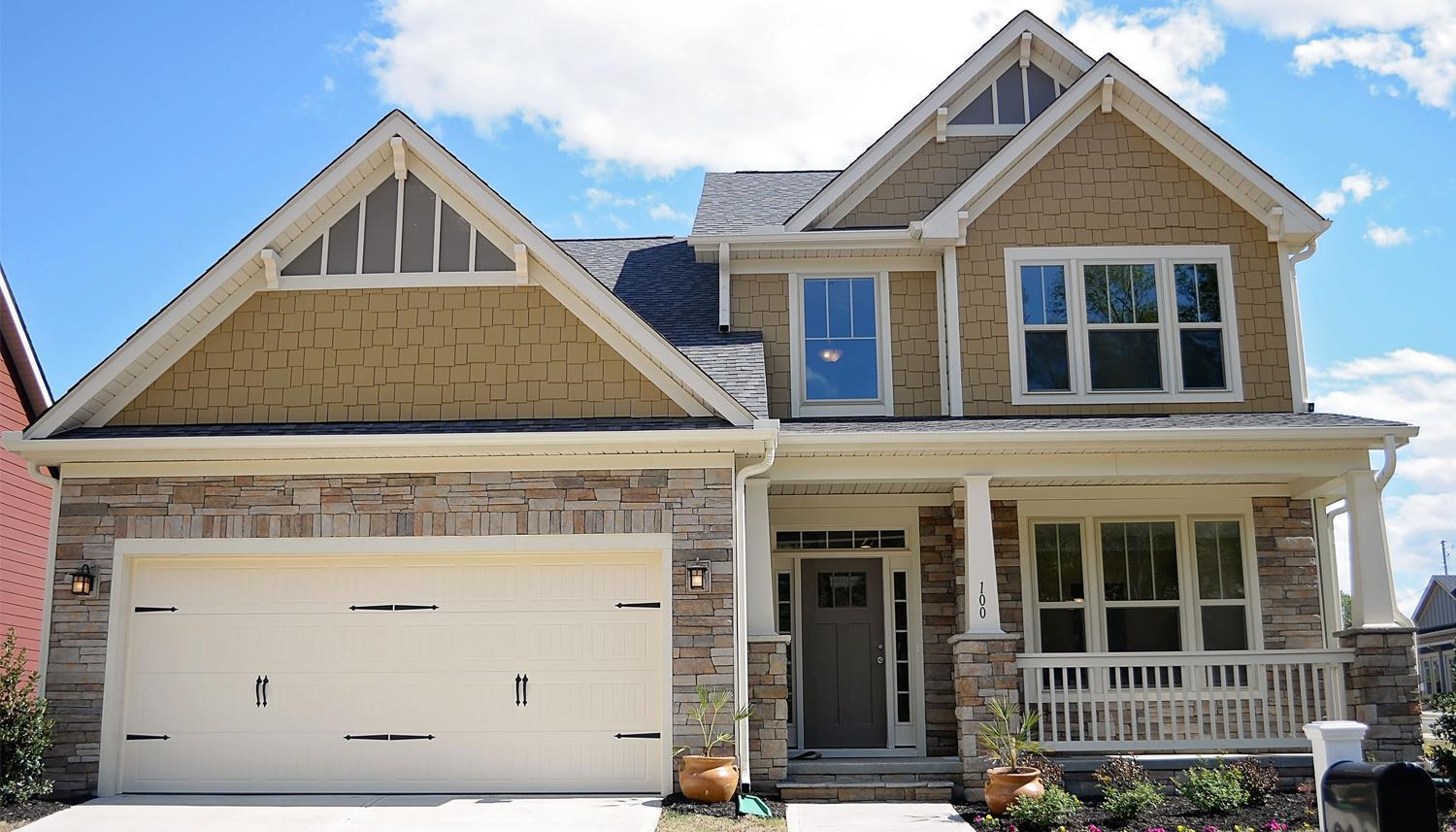 Exterior featured in the Middleton By Dan Ryan Builders in Greenville-Spartanburg, SC