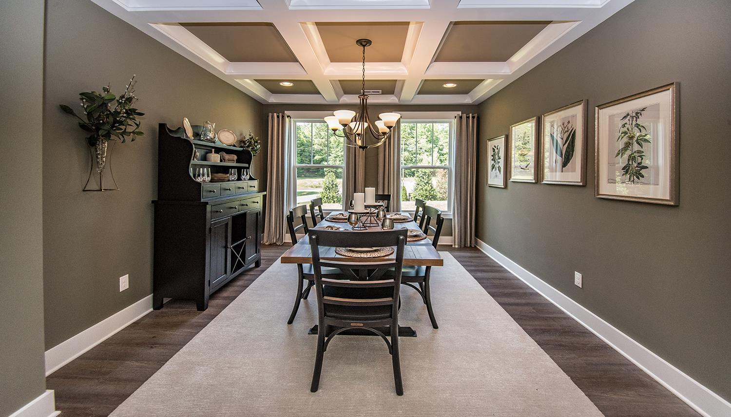 Living Area featured in the Cooper 3 By Dan Ryan Builders in Greenville-Spartanburg, SC