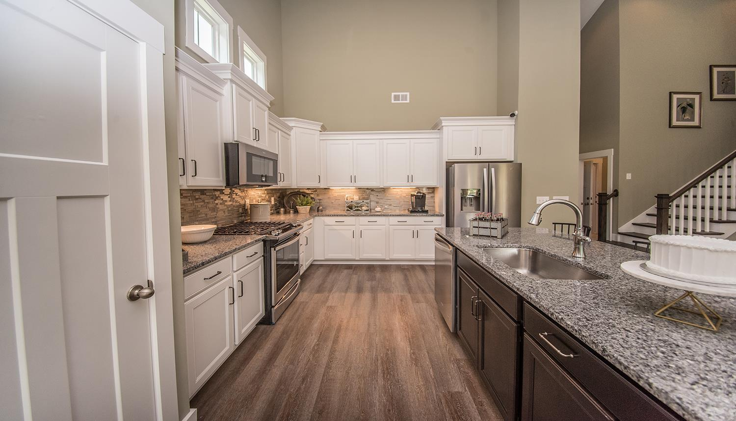 Kitchen featured in the Cooper 3 By Dan Ryan Builders in Greenville-Spartanburg, SC
