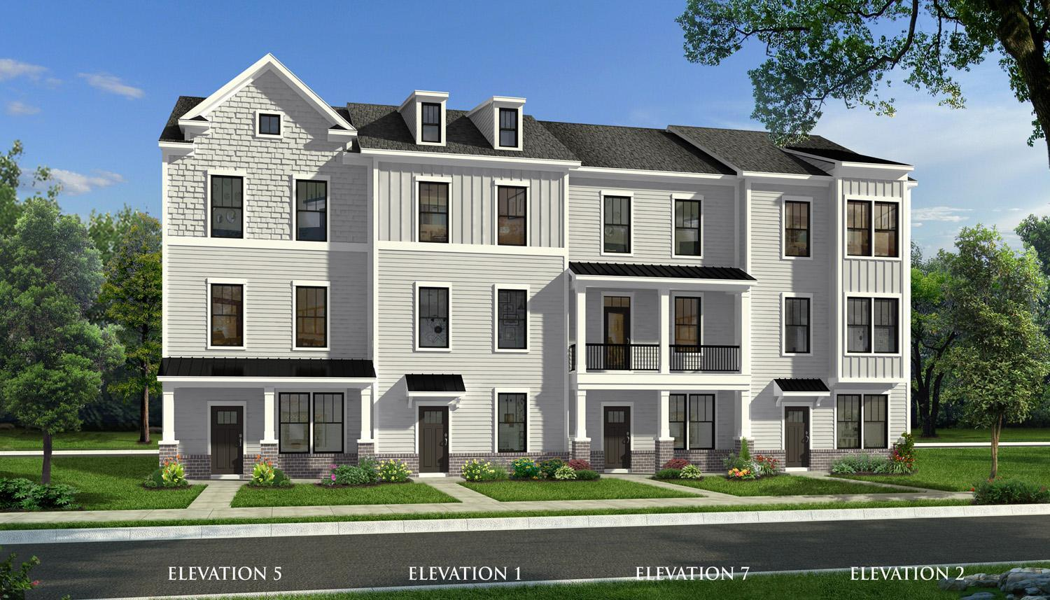 Exterior featured in the Landon By Dan Ryan Builders in Greenville-Spartanburg, SC