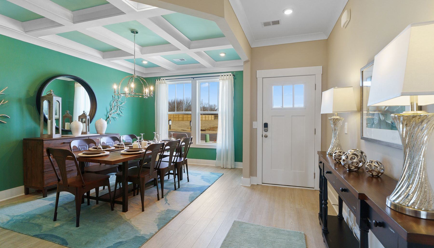 Living Area featured in the Summit By Dan Ryan Builders in Greenville-Spartanburg, SC