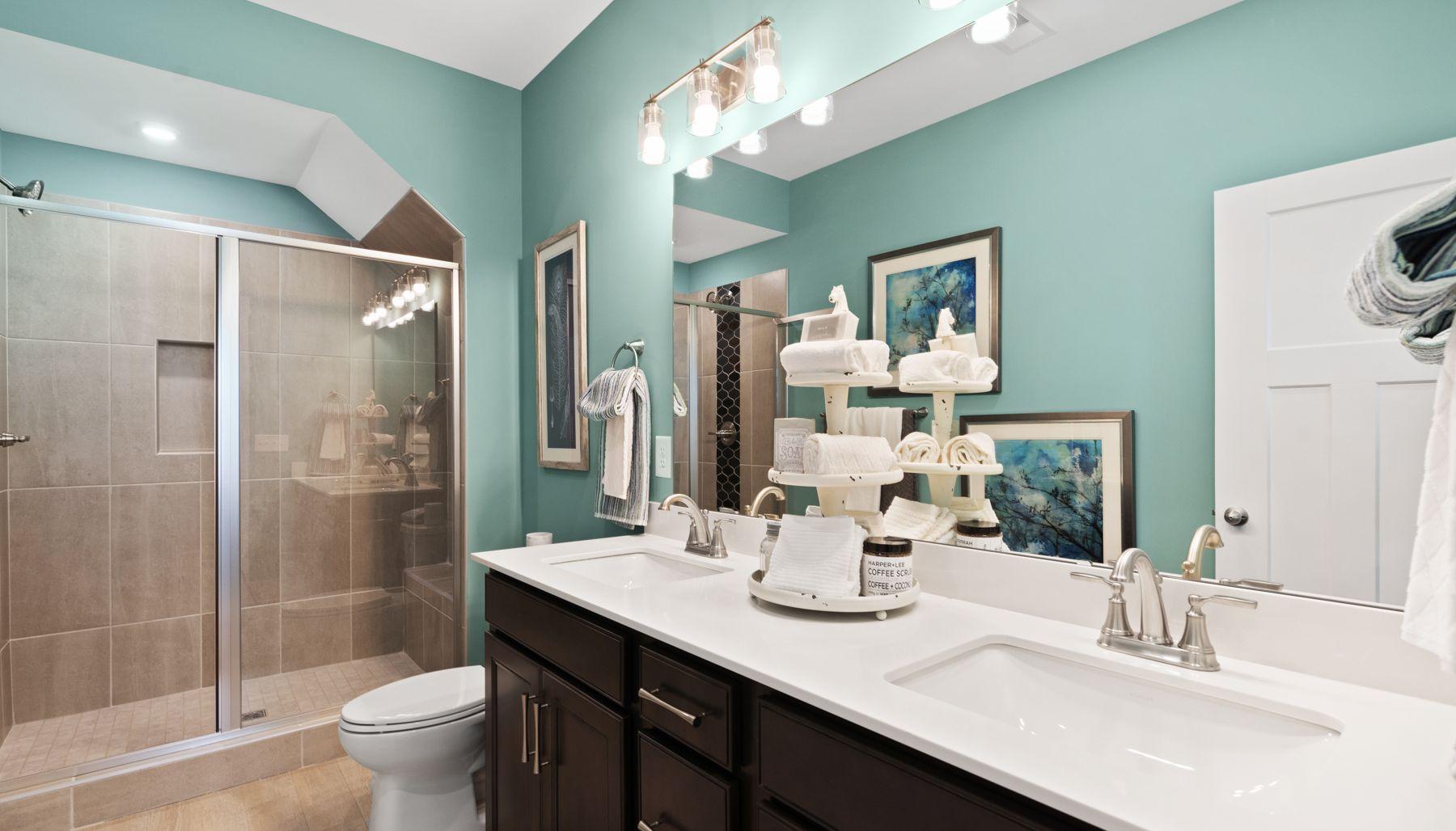 Bathroom featured in the Summit By Dan Ryan Builders in Greenville-Spartanburg, SC