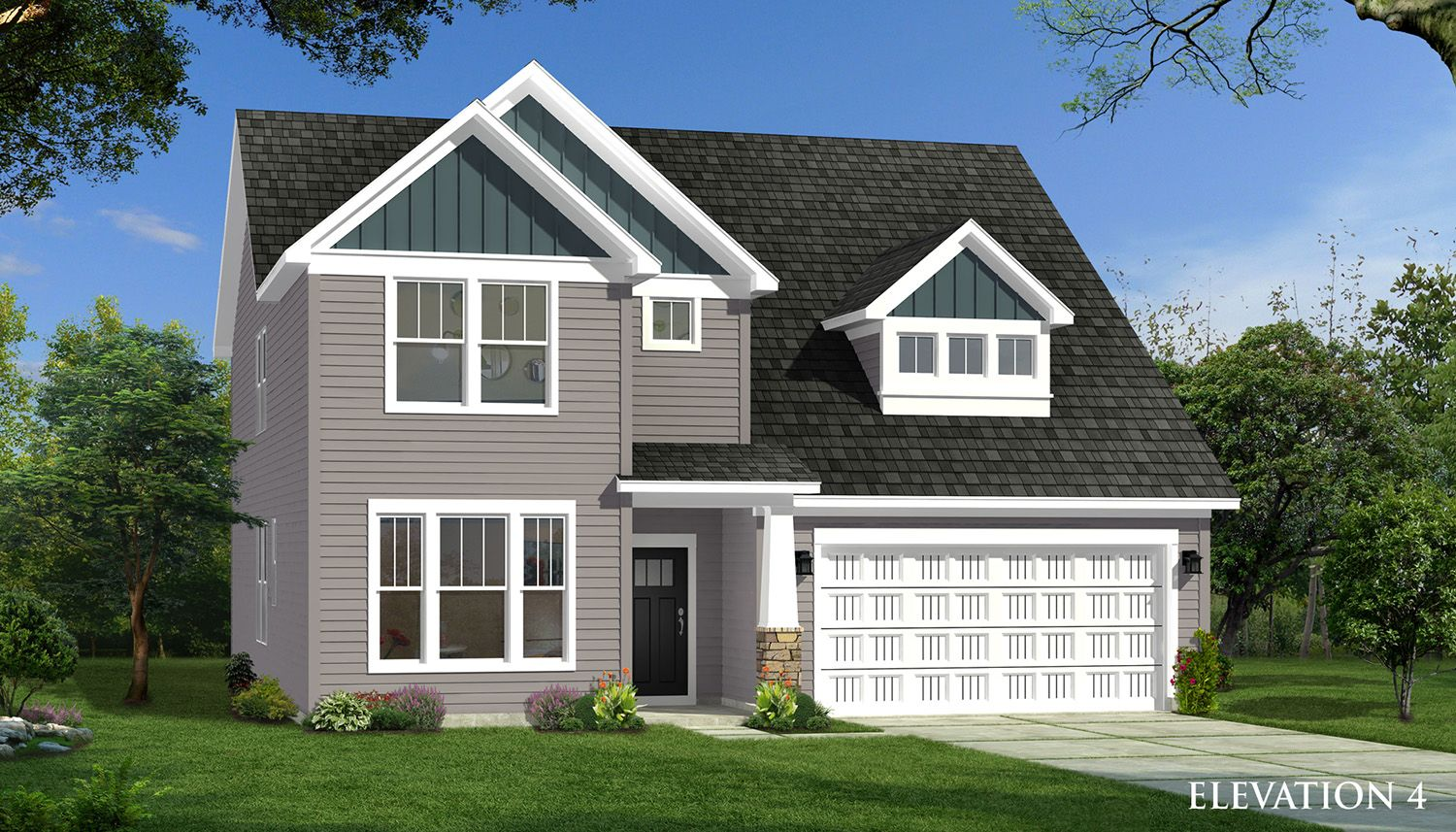 Exterior featured in the Drayton By Dan Ryan Builders in Greenville-Spartanburg, SC