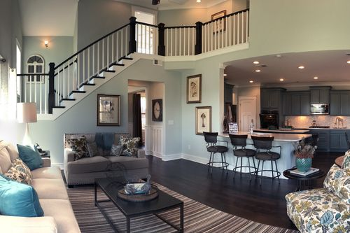 Greatroom-and-Dining-in-Sutherland-at-Sterling Estates-in-Boiling Springs