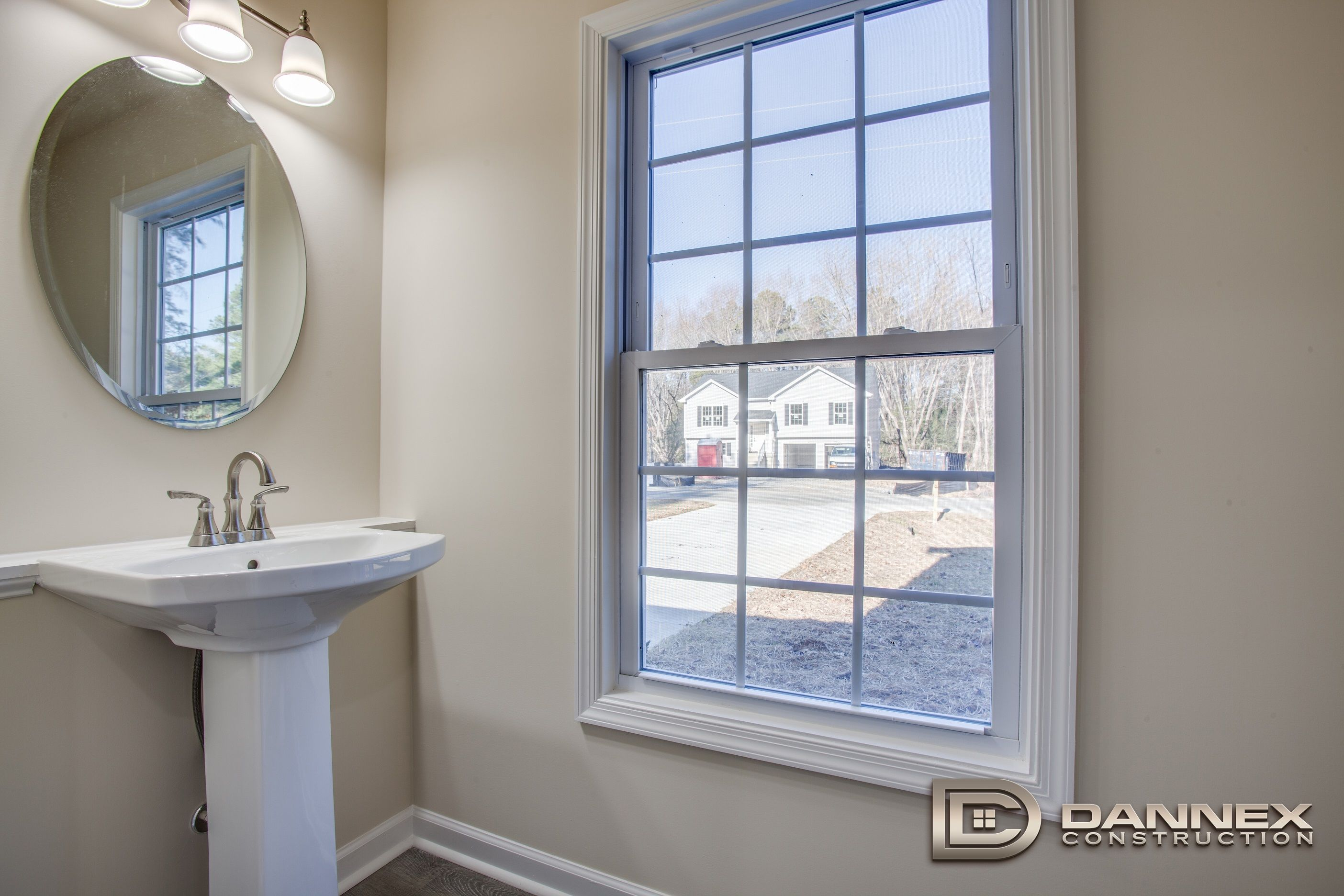 Bathroom featured in the Brewer By Dannex Construction in Washington, VA