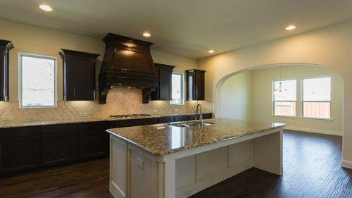 Kitchen-in-5051 Plan-at-Windsong Ranch - 71' Homesites-in-Prosper