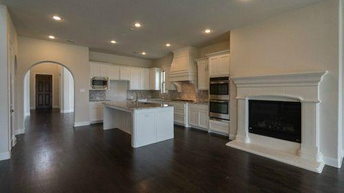 Kitchen-in-5053 Plan-at-Montgomery Farm Estates - 62' Homesites-in-Allen