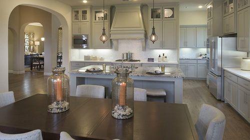 Kitchen-in-5075 Plan-at-Lakewood at Brookhollow - 60' Homesites-in-Prosper