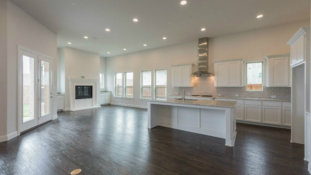 Kitchen-in-5031 Plan-at-Estates at Shaddock Park - 65' Homesites-in-Frisco