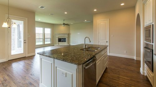 Kitchen-in-5228 Plan-at-Lakewood at Brookhollow - 55' Homesites-in-Prosper
