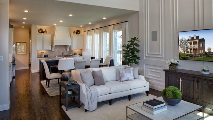 The Tribute Somerset 40 Homesites In The Colony Tx New Homes
