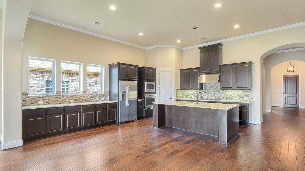 Kitchen-in-5135-at-Grand Central Park - 55' Patio Homesites-in-Conroe