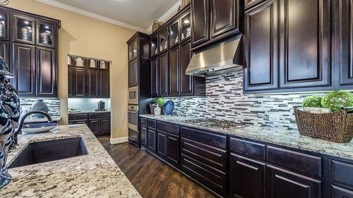 Kitchen-in-5136-at-Bridgeland, Parkland Village - 55' Patio Homesites-in-Cypress