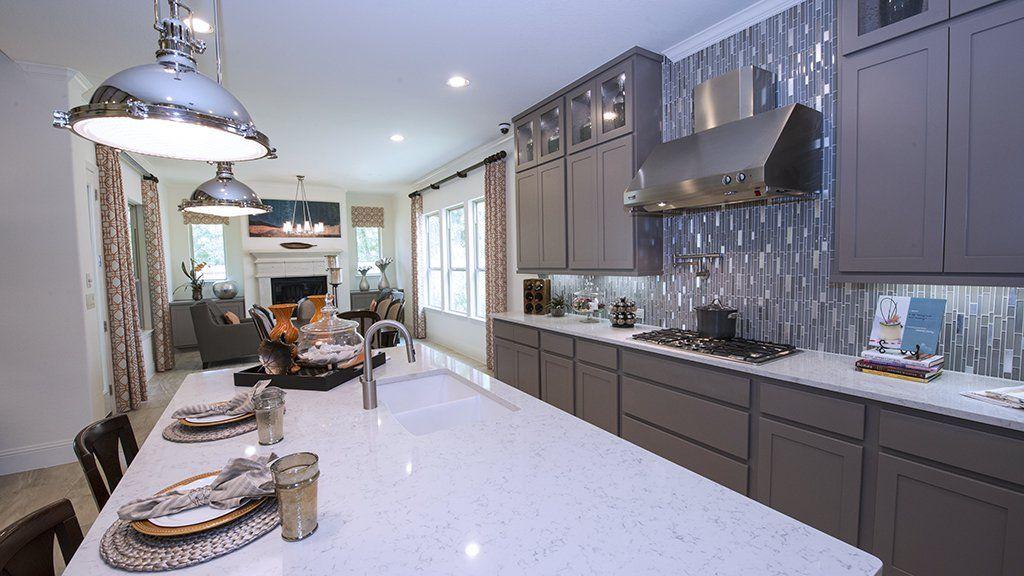 Kitchen-in-7445-at-Bridgeland, Parkland Village - 80' Homesites-in-Cypress