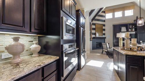 Kitchen-in-7490-at-Bridgeland, Parkland Village - 80' Homesites-in-Cypress