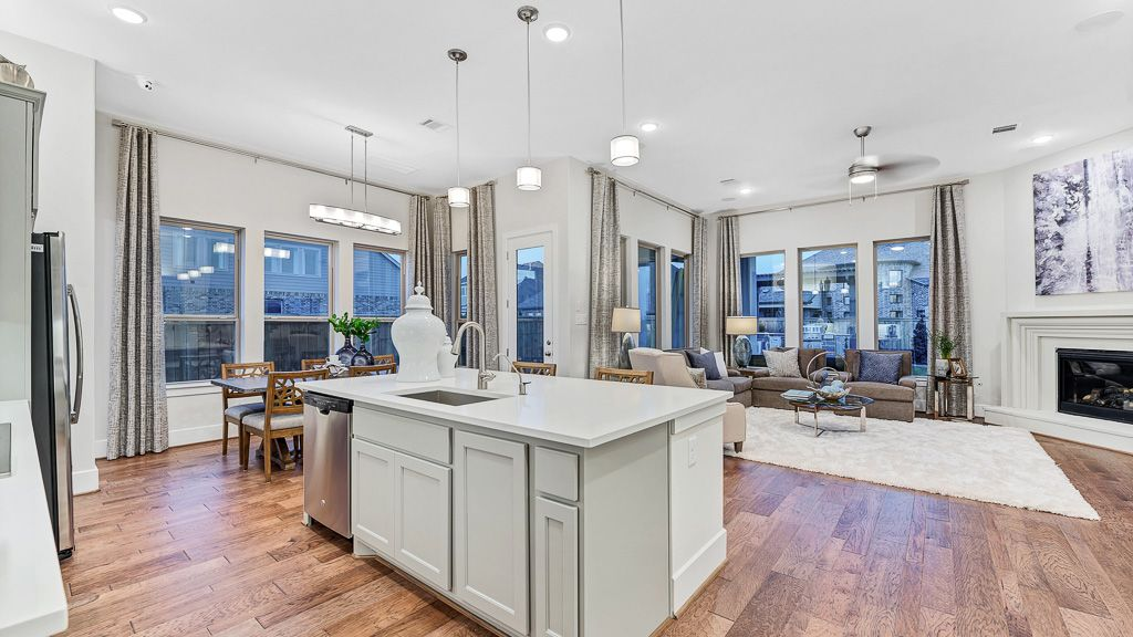 Kitchen-in-5153-at-The Woodlands, Cassena Grove - 55' Patio Homesites-in-The Woodlands