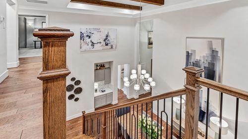 Stairway-in-5153-at-Bonterra at Woodforest - 60' Homesites-in-Montgomery