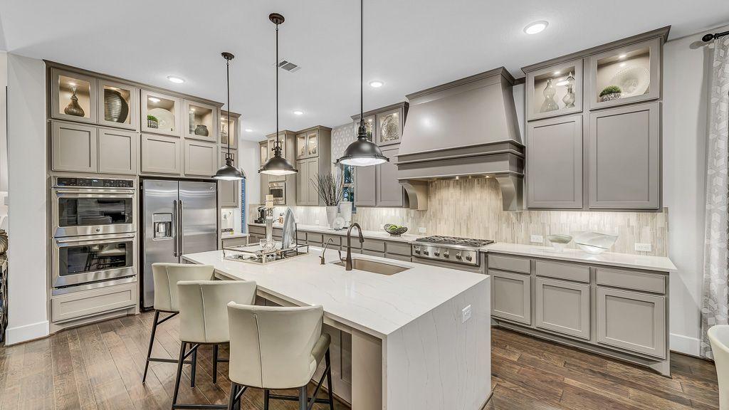 Kitchen-in-8093-at-Bridgeland, Parkland Village - 80' Homesites-in-Cypress