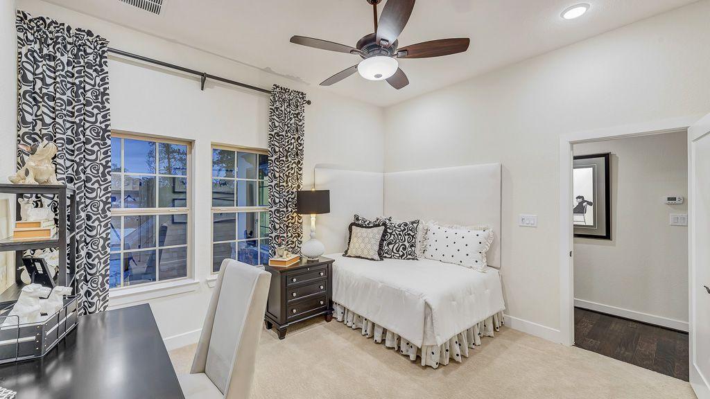 Bedroom-in-8091-at-Bridgeland, Parkland Village - 80' Homesites-in-Cypress